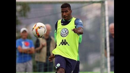 Carlos Ascues en la lista del Wolfsburgo para jugar la Champions League
