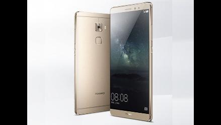 IFA 2015: Huawei lanza un nuevo smartphone que capta la presión dactilar