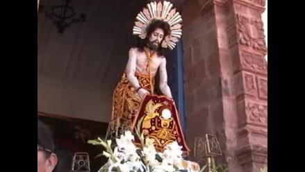 Cusco: entregan venerada imagen escultórica del 'Señor de Huanca'
