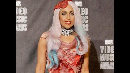 Lady Gaga: Así se ve su traje de carne en la actualidad