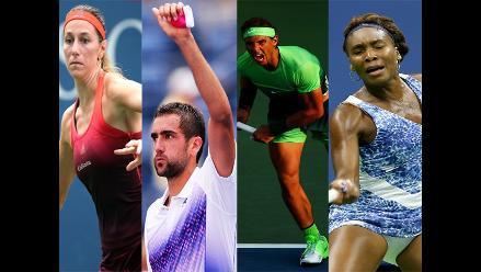 US Open: Rafael Nadal y Serena Williams avanzan a la siguiente ronda