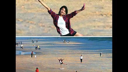 Una 'selfie' gigante que incluye el paisaje solamente será posible una vez