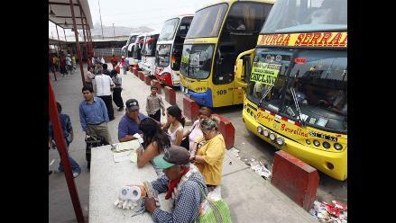 Trujillo: extorsionadores amenazan a transportistas del terminal Santa Cruz