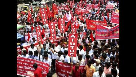 India: opositores realizan primera huelga contra gobierno de Modi