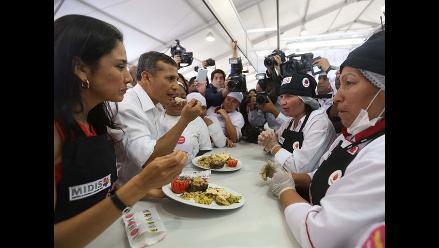 Mistura: Humala dice que feria es una muestra de inclusión social