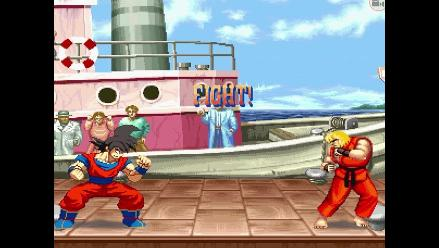 Dragon Ball: mira a Gokú peleando en el Universo Street Fighter