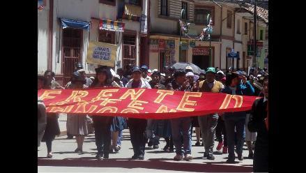 Huancavelica: inician paro en Colcabamba por falta de obras en carretera