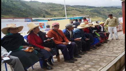 Chiclayo: nuevos beneficiarios del programa pensión 65 en Olmos