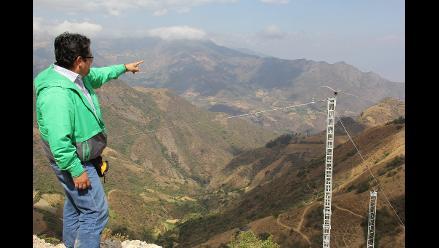 Cajamarca: electrifican 49 pueblos de Contumazá, San Pablo y San Miguel