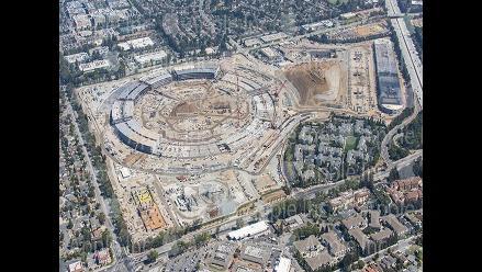 YouTube: así va quedando la nueva sede futurista de Apple