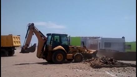 Pacasmayo: desalojan a invasores de playa