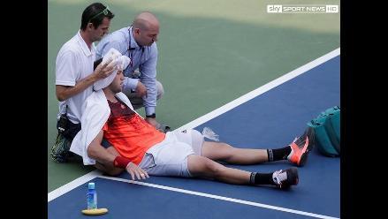 US Open: 14 tenistas se retiran en dos rondas por altas temperaturas