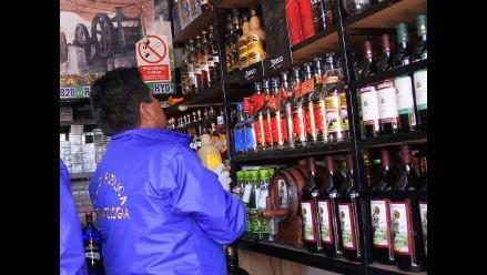 Arequipa: fueron clausurados locales de venta de licor en Cerro Colorado