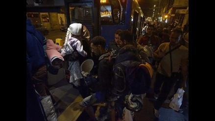 Austria confirma la llegada de 6 500 refugiados y se esperan más