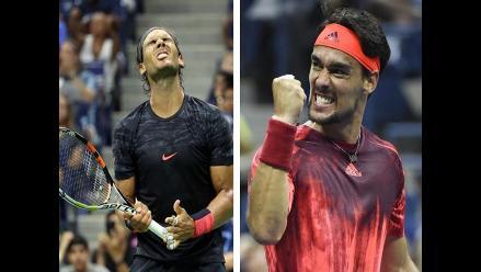 US Open: Rafael nada fue eliminado por Fabio Fognini