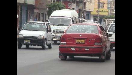 Transportistas de servicio público amenazan con protesta en Chiclayo