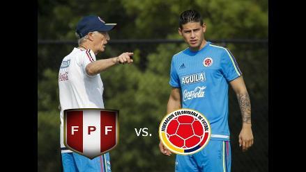 Perú vs. Colombia: José Pékerman paró posible equipo titular para amistoso