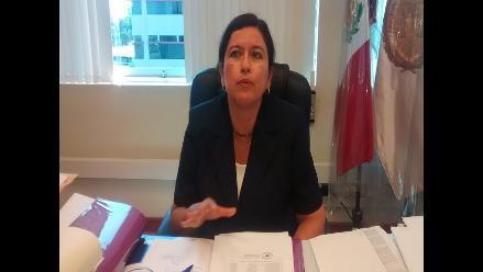 Presidenta de Fiscales en contra de campaña