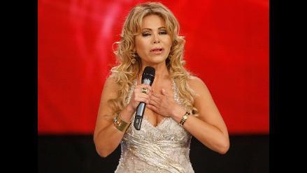 Gisela Valcárcel dijo haber estado enamorada de Jaime Bayly