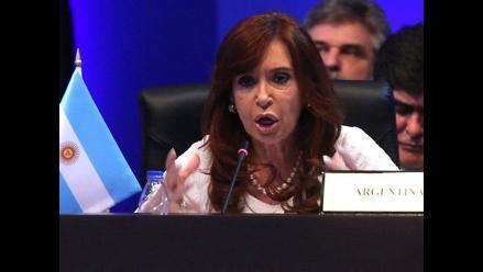 Cristina Fernández califica a BRICS como