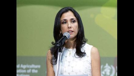 Nadine Heredia niega haber afirmado que su letra es la de las agendas