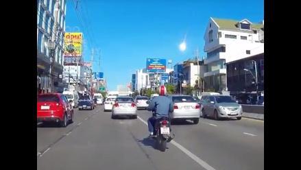 Tailandia: la caída de un meteorito crea alarma social en Bangkok