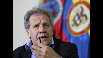 Luis Almagro pone a OEA a mediar en crisis colombo-venezolana