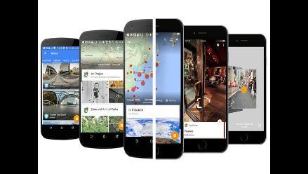 Google lanza una aplicación exclusiva para Street View