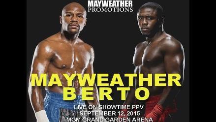 Floyd Mayweather anuncia para el 12 de setiembre su última pelea
