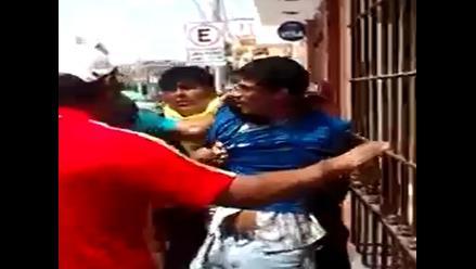 WhatsApp: pobladores de Huacho capturan a delincuente con sus propias manos