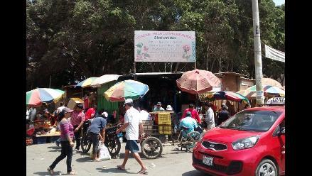 Chiclayo: ejecutarán desalojo de comerciantes del exvivero San Luis