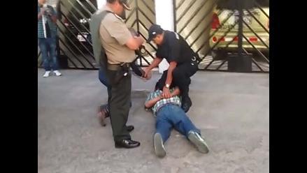 Arequipa: capturan a tres delincuentes y se salvan de ser linchados