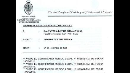 Piura: resultado de Junta Médica señala que Edita Guerrero murió de aneurisma