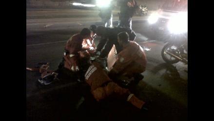 La Libertad: dos muertos y dos heridos en choque de motos en Cascas