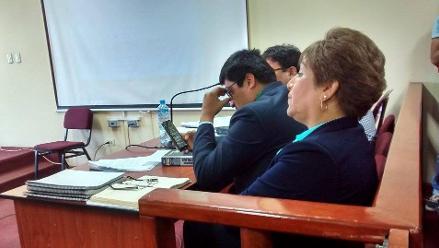 Chimbote: realizan audiencia de apelación a condena de alcaldesa de El Santa