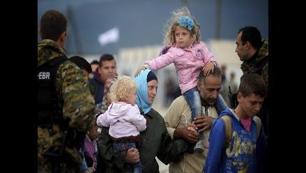 Serbia: Cada día llegan entre 2.000 y 3.000 refugiados de camino a EU