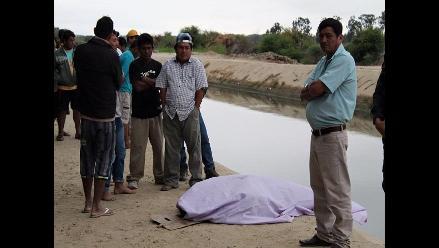 Piura: Rescatan cuerpo de hombre que se ahogó en canal Biaggio Arbulú