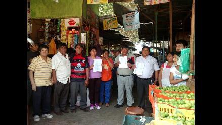 Chiclayo: comerciantes muestran resistencia a pocas horas de desalojo