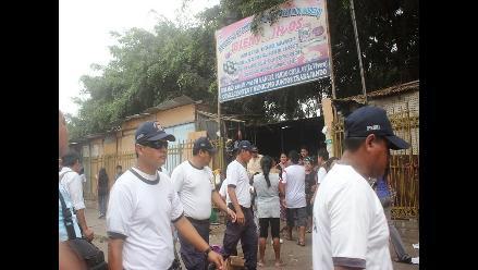 Chiclayo: enorme expectativa por desalojo de comerciantes de exvivero