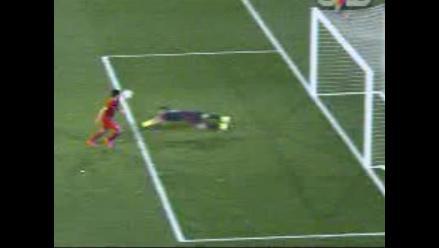 Perú vs. Colombia: Iván Bulos no aprovechó blooper de David Ospina para anotar
