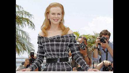 Nicole Kidman luce un nuevo rostro