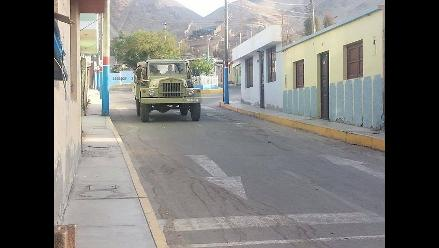 Arequipa: califican de provocación permanencia de FF.AA. en Islay
