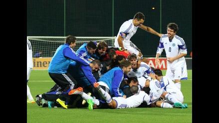 YouTube: Loco festejo de San Marino por marcar gol fuera de casa tras 14 años