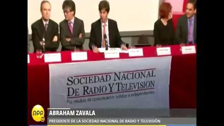 SNRTV presentó Comisión de Ética para regular contenido televisivo
