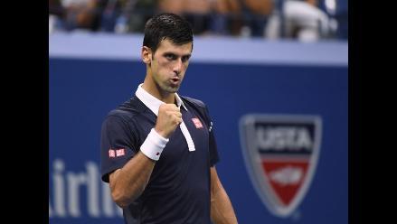 US Open: Novak Djokovic ganó y clasificó a semifinales