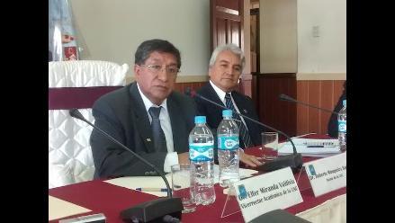 Cajamarca: incendio en auditorio será investigado afirma rector de la UNC