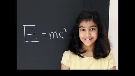 Una niña de 12 años tiene el coeficiente intelectual más alto que Einstein y Hawking