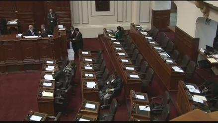 Bancada nacionalista se ausenta y deja sin quórum a sesión del pleno