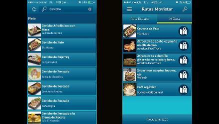 El aplicativo que te ayuda a encontrar los mejores restaurantes de Mistura