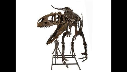 Subastan esqueleto de un Allosaurus de 155 millones de años